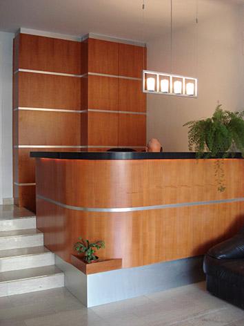 II. Irodaház recepciója